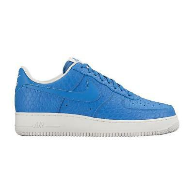 Men's Nike Air Force 1 07' LV8 Lifestyle Shoes 718152 405 Star Blue & White