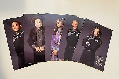 Babylon 5 TNT Rare 5 cards limited issued set 1990s