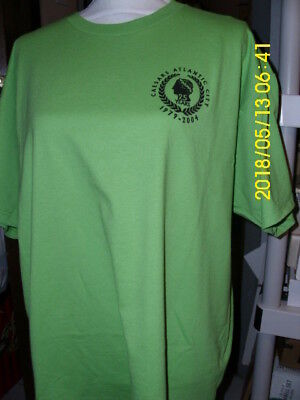 Caesar's Casino Atlantic City Tee Shirt Sz Xl 25Th Anniversary Bright Green