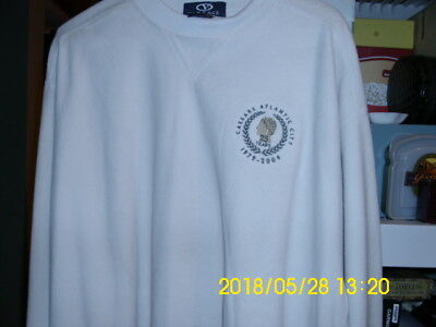 CAESAR'S CASINO ATLANTIC CITY 25TH ANNIVERSARY sweatshirt size large