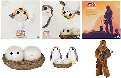 SDCC 2018 Hasbro Exclusive Star Wars Forces of Destiny: Chewbacca w/Porg Family