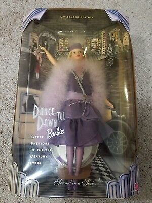 Dance 'Til Dawn Barbie Great Fashions of the 20th Century 1920s 2nd Series NRFB
