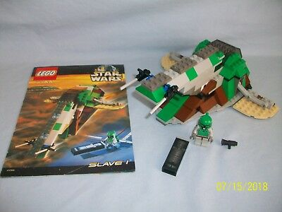 Lego Star Wars 7144 Slave I Complete W Instructions 5495