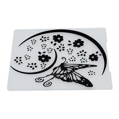 Lace Flower Cake Cookie Fondant Side Baking Wedding Party Stencil Decor Tools C