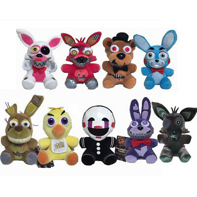 UK Five Nights at Freddy's FNAF Horror Game Plush Doll Kids Plushie Toy Gift 7""