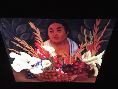 "Diego Rivera /""Flower Carrier"" Mexican Social Realism 35mm Art Slide"
