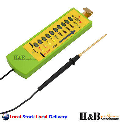 Electric Fence Voltage Tester Farm Fencing Poly Wire Tape Rope Solar TestingTool