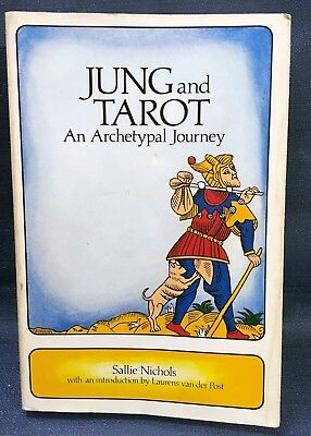 Vintage 1980 JUNG and TAROT - An Archetypal Journey - Sallie Nichols - Weiser
