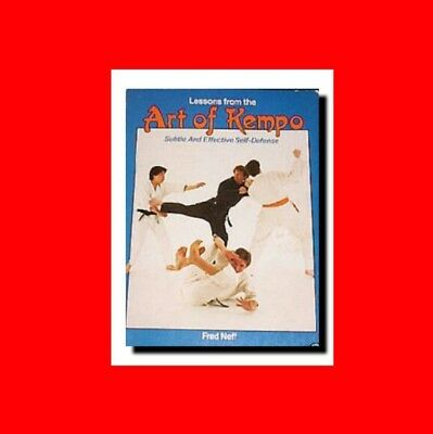 ☆Martial Arts Book:subtle Secrets Self-Defense:lessons%Art Of Kempo(Kenpo)Karate