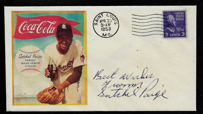 Satchel Paige Coca Cola ad Featured on Limited Edition Collector Envelope OP921