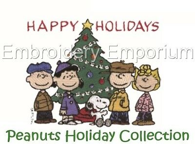 Peanuts Holiday Collection - Machine Embroidery Designs On Cd