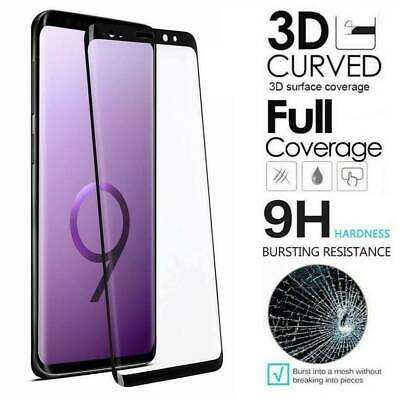 For Samsung Note 10 S10 Plus FULL COVER 3D Tempered Glass Screen Protector Flim