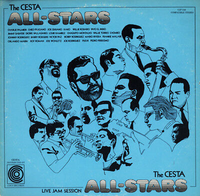 "CESTA ALL-STARS.LP ""Live Jam Session"".-On Coco Records 110-1974.Ex.Copy.Plays Ex"