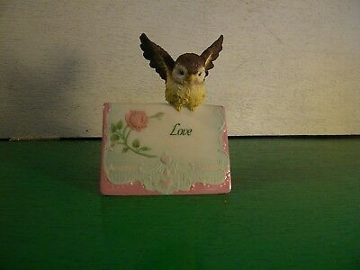 """Love"" God's Little Sparrows 8989 by Westland Giftware"