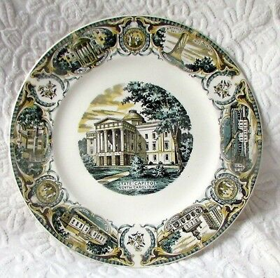 Collectible North Carolina Plate from Salem China Co. - Now 55% off!