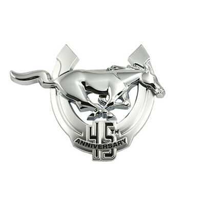 2009 Mustang Genuine Ford Passenger's Side 45th Anniversary Chrome Emblem - RH
