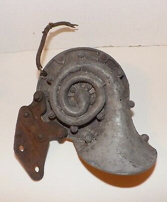 1950's Vintage Delco Remy 519 Hw High Note Car Truck Horn-Works