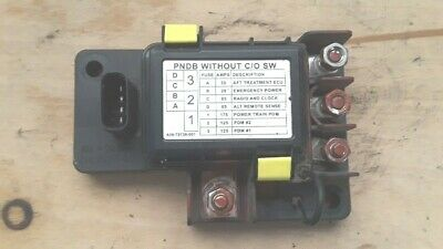 2012 Freightliner M2 Power Systems Fuse Box PNDB Without C/O SW  A06-72138-001