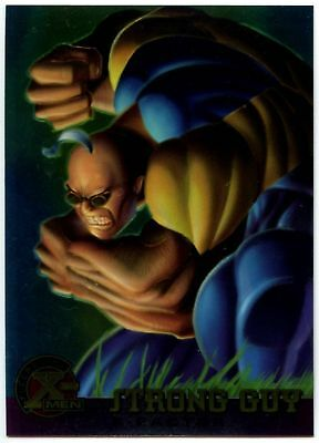 Strong Guy #19 X-Men Chromium Fleer Ultra 1995 Trade Card (C1399)