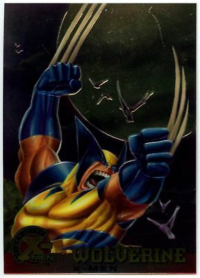 Wolverine #13 X-Men Chromium Fleer Ultra 1995 Trade Card (C1399)