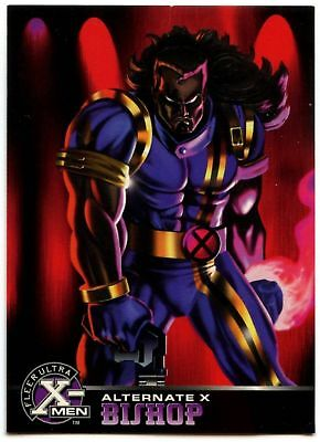 Bishop #3 Of 20 X-Men Alternate X Fleer Ultra 1995 Chase Card (C1401)