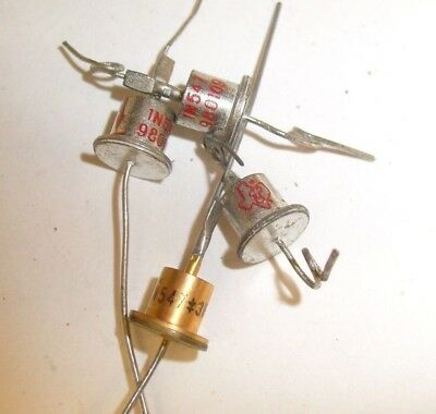 4 lot  1N547 TI Texas Instruments High Performance Rectifier Diode - NOS   /r3