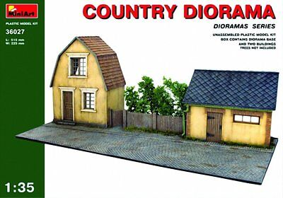 Miniart 1:35 Scale Country Diorama Building kit (Multi-Colour)