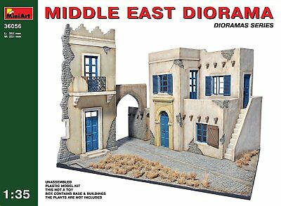 "Miniart 1:35 Scale ""Middle East Diorama"" Plastic Model Kit"