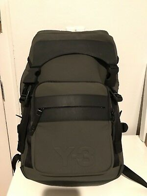 88b56d00d6 BRAND NEW Adidas Y-3 Ultratech Backpack - Olive   Black - Originally 350 USD