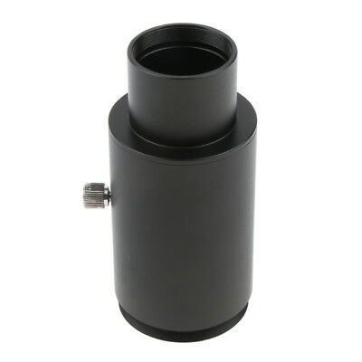 """1.25"""" Extension Tube M42 Thread T-Mount Adapter for Telescope Eyepiece Black"""