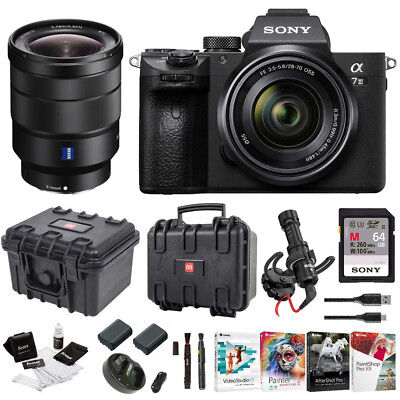 Sony α7 III Full Frame Mirrorless Camera with 28-70mm and 16-35mm f/4 Lens Kit