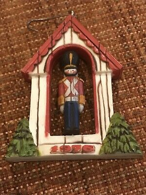 1976 Hallmark Toy Soldier Twirl-Abouts Christmas Ornament