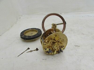 Antique Medaille D'Argent Vincent & Cie Clock Movement With Slate Chapter Ring