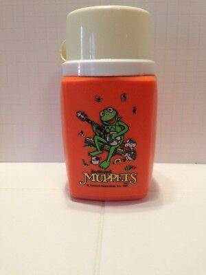 Vintage 1981 Muppets Thermos VG