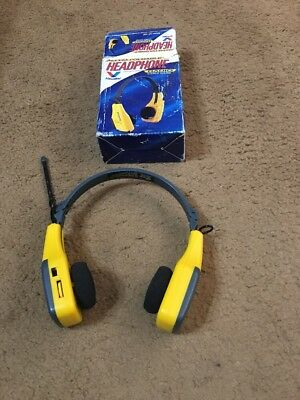 VALVOLINE Headphone AM/FM Folding Headphones Sports Radio New in Box