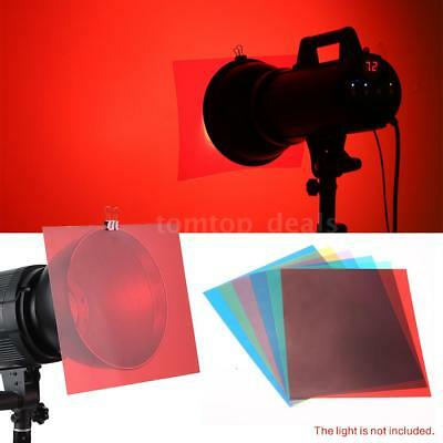 Photography Studio 12 Color Gels Filters For Video Lighting Flash