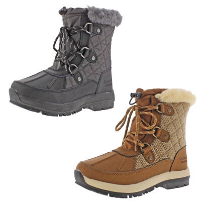 Bearpaw Bethany Women's Quilted Waterproof Duck Toe Snow Boots Winter