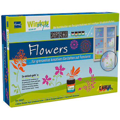 "Window Style Set ""Flowers"""