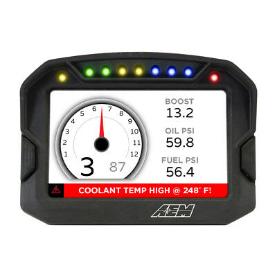 30-5600 Aem Cd-5 Carbon Digital Racing Dash Display Kit