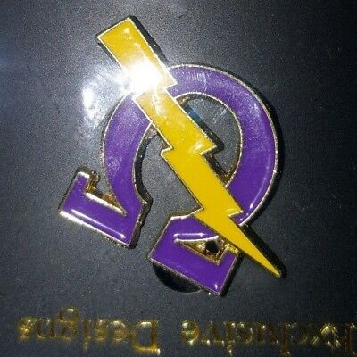 Omega Psi Phi Fraternity Reversible Dog Tag New 988 Picclick
