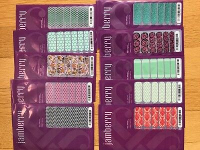 Jamberry Lot of 21 FULL sheets. Price Reduced!!!Retired Consultant