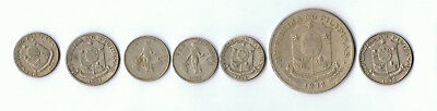 Old Philippines Coins Peso Centavos