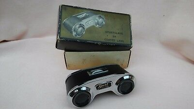 VINTAGE RARE 1960,s BOXED SPORTGLASS 3X COATED LENS MADE IN JAPAN IN VGC.