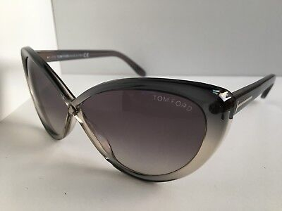 621243f148230 Tom Ford Madison TF 253 TF253 20B Gray 63mm Cats Eye Women s Sunglasses T1
