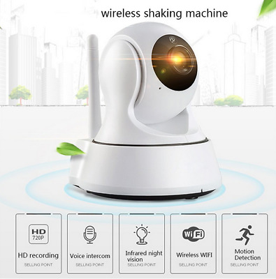 Wireless IP Camera 720P HD WiFi Home Video Security Infrared Night Baby Monitor