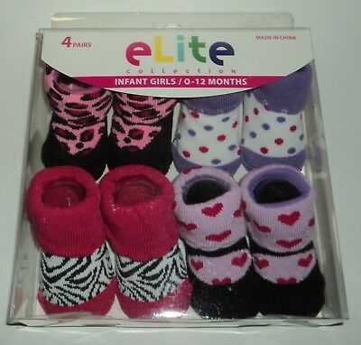 #2281 DISNEY BABY BOOTIES INFANT 0-12 MO 2PK MICKEY MOUSE FACE /& RED BOOTIES NEW
