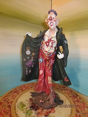 Duncan Royale Collector Edition American Clown Figurine Statue #Sample