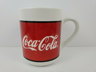 Coca-Cola 1996 Two 2 Coffee Tea Mugs by Gibson Excellent Used Condition!