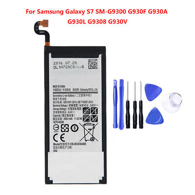 Brand NEW OEM Replacement 3000mAh Li-ion Battery for Samsung Galaxy S7 SM-G9300