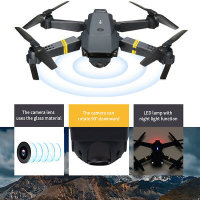 E58 Full 480P HD Camera WIFI FPV Foldable Selfie Helicopter 6 Axis Quadcopter
